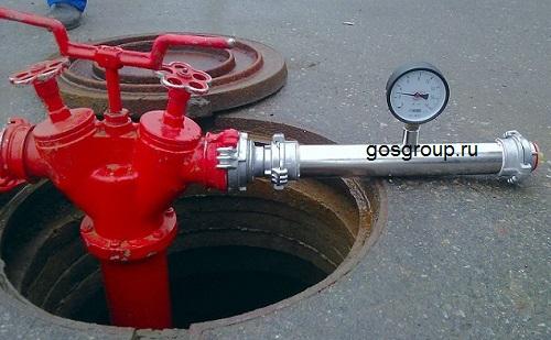 Ремонт, замена и обслуживание пожарных гидрантов